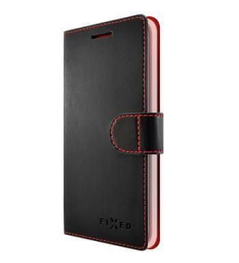 Fixed FIXED FIT könyv típusú telefontok a Xiaomi Mi A2 számára, fekete FIXFIT-320-BK
