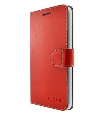 Fixed Pouzdro typu kniha FIXED FIT pro Xiaomi Mi A2, červené FIXFIT-320-RD