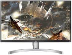 LG monitor 27UK650-W - Odprta embalaža