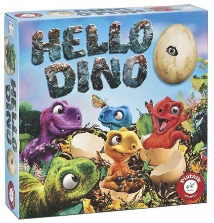 Piatnik gra rodzinna Hello Dino