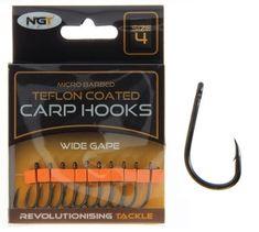 Ngt Háčky Teflon Hooks Wide Gape 10 ks