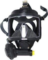 INTERSPIRO Maska celotvárová DIVATOR MK II AGA čierna - podtlak