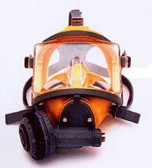 INTERSPIRO Maska celotvárová DIVATOR MK II AGA žltá - podtlak