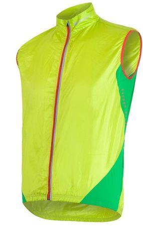 Sensor moški brezrokavnik za športne aktivnosti Parachute Extralite, L, rumeno-zelena