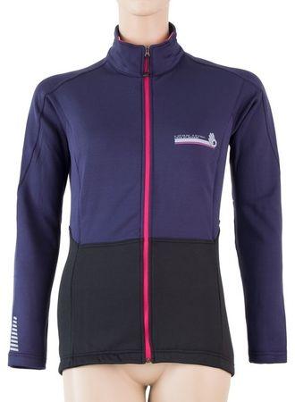 Sensor ženska jakna, L, črna/vijolična