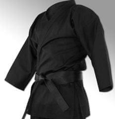 Penna kimono za karate, črn, 200 cm