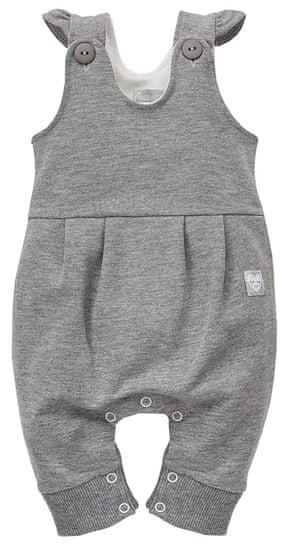 PINOKIO dívčí laclové kalhoty Unicorn 62 šedá