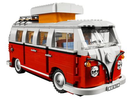 LEGO autobus Creator Expert 10220 Volkswagen T1 Camper Van