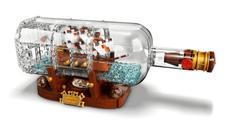 LEGO Zestaw Ideas 21313 Statek w Butelce