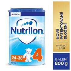 Nutrilon 4 batolecí mléko 800g, 24+