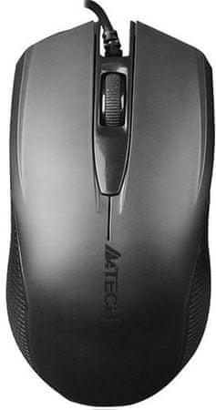 A4Tech Mysz OP-760 Black (OP-760 Black)