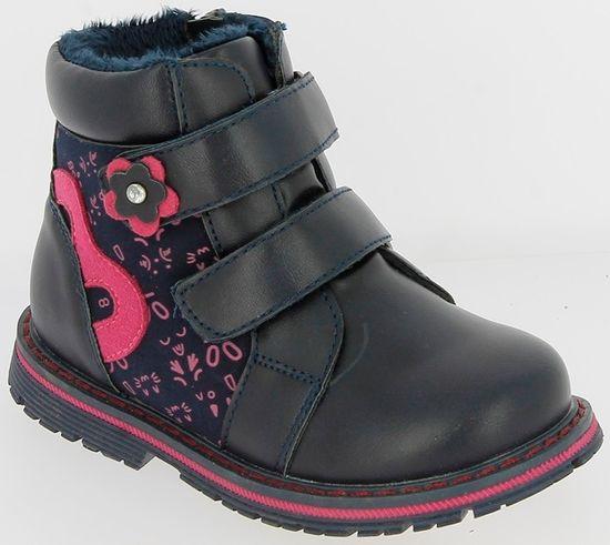 V+J dívčí zimní boty 20 modrá