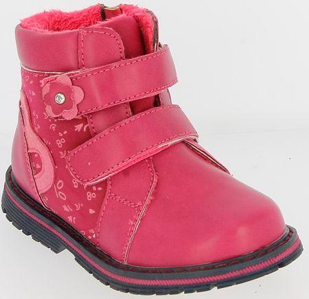 V+J dekliški zimski škornji, 22, roza