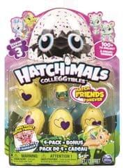 Spin Master Hatchimals gyűjthető állatok tojásban, négyes csomagolás, 3. sorozat