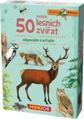 Mindok 50 našich lesných zvierat