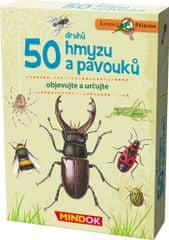 Mindok 50 druhov hmyzu a pavúkov