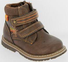 V+J buty zimowe za kostkę chłopięce
