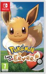 Nintendo igra Pokémon: Let's Go, Eevee! (Switch) datum izlaska: 16.11.2018.