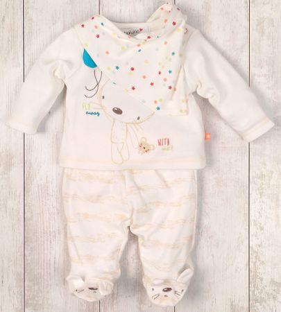 Minoti Friends csecsemő szett 56 - 62 fehér