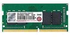 Transcend pomnilnik (RAM) JetRam 8 GB, DDR4, PC2400, CL17, 1,2 V, SODIMM
