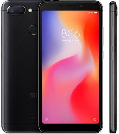 Xiaomi Redmi 6, 3GB/64GB, Dual SIM, čierny
