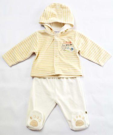 Minoti Detský dojčenský set 62 - 68 béžová