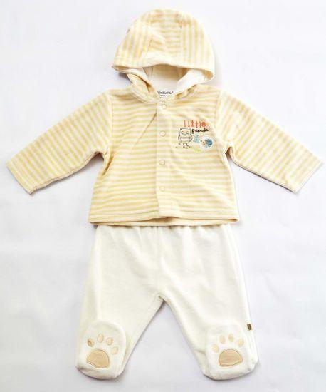 Minoti Dětský kojenecký set 62 - 68 béžová