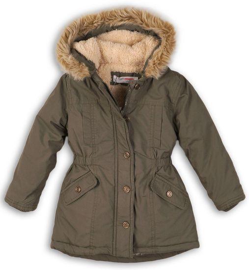 Minoti Dívčí kabát parka 68 - 80 zelená