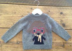 Minoti Chlapecký svetr s mývalem