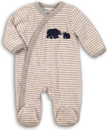 Minoti bodi za dojenčke z motivom medvedka, 68 - 74, modra