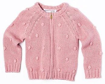 Minoti dekliški pulover, 68 - 80, roza