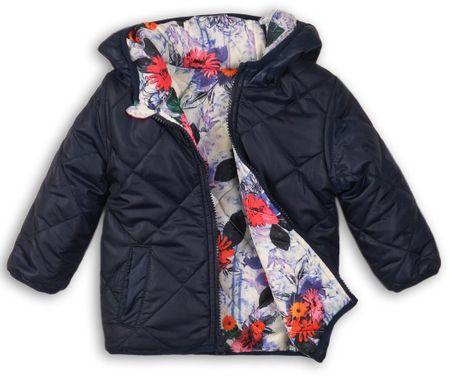 Minoti obojestranska šivana dekliška bunda, 68 - 80, modra