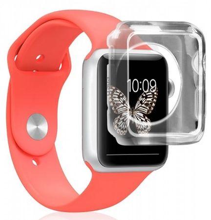 SBS Aero ovitek za Apple Watch 38 mm, prozoren