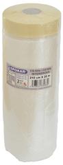 SPOKAR CQ fólie s papírovou lepící páskou 210 cm × 20 m