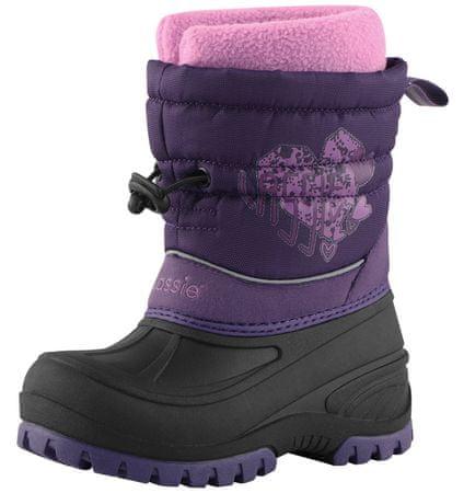 Lassie dekliški snežni čevlji Purple, 25, vijolični