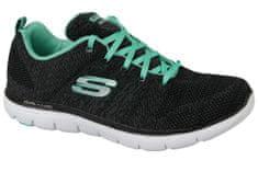 Skechers Flex Appeal 2.0 12756-BKAQ 39,5 Czarne