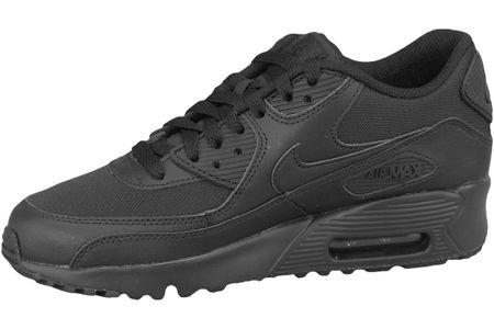 buty sneakers Nike Air Max 90 Mesh Gs 833418 001, dziecięce, Czarne