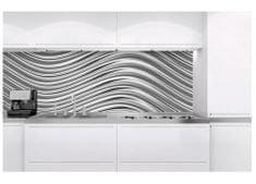 Dimex Fototapeta do kuchyne KI-180-103 Strieborné vlny 60 x 180 cm
