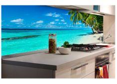 Dimex Fototapeta do kuchyne KI-180-091 Rajská pláž 60 x 180 cm