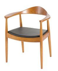 Mørtens Furniture Jedálenská drevená stolička Formand