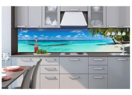 Dimex Fototapeta do kuchyne KI-260-091 Rajská pláž 60 x 260 cm