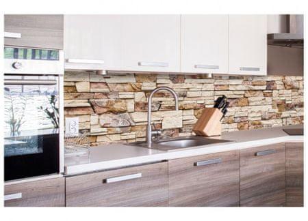 Dimex Fototapeta do kuchyne KI-260-088 Kamenný obklad 60 x 260 cm