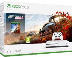 Microsoft Xbox One S 1TB + Forza Horizon 4 - rozbaleno