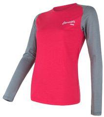 Sensor Koszulka damska Merino Active Pt Logo