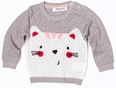Minoti Dívčí svetr s kočičkou