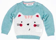 Minoti Dívčí svetr s kočičkou II