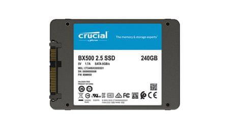 Crucial SSD disk BX500, 240 GB, 2.5'' SATA 3D TLC, 7 mm