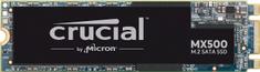 Crucial SSD disk MX500 1 TB, M.2 2280, SATA3