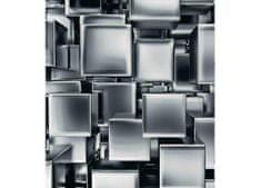 Dimex Fototapeta MS-3-0285 Chrómové kocky 225 x 250 cm