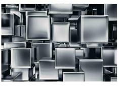 Dimex Fototapeta MS-5-0285 Chrómové kocky 375 x 250 cm